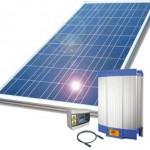 Zonnepaneel-installatie